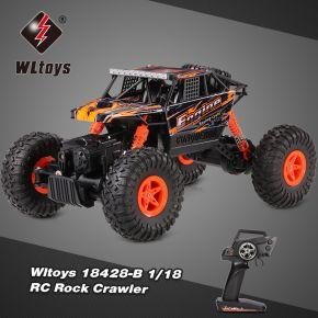 WLtoys 18428-O 1:18 4WD RC Climbing Car RTR 2.4GHz
