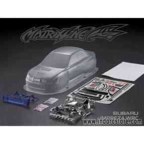 1:10 Subaru Impreza WRC PC Clear body shell