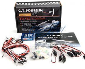 GT POWER 12 LED RC Car Lighting kit 1/10 BRAKE + HEADLIGHT (GT Power 230)
