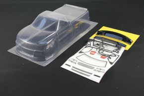 1/10 RC Car PVC Clear Body Shell Chervolet Silverado Pick Up Truck