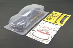1/10 RC Car PVC Clear Body Shell Nissan GTR R34