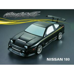 1:10 NISSAN 180 CARBON-PAINTED BODY PC Material