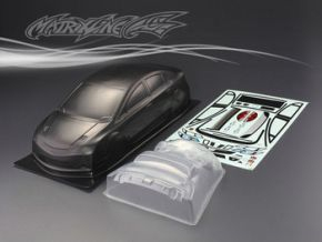 1:10 HONDA CLVIC-TYPE-R CARBON-PAINTED BODY Polycarbonate