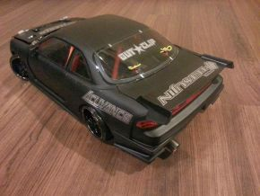 1:10 NISSAN S14 1093 PC CARBON-PAINTED BODY SHELL