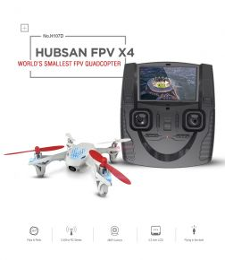 Hubsan H107D X4 FPV (Live video streaming) Drone 2.4Ghz Edition Mode 2