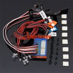 G.T.POWER Smart RC Car 12 LED System - GTPower102