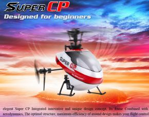 Walkera Super CP  6-Channel 3D 3-Axis Flybarless BNF Version (Without transmitter)