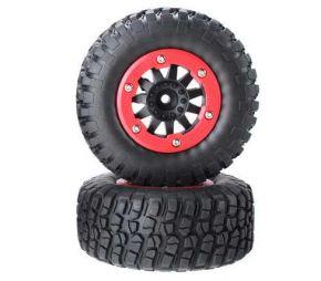 1/10 AUSTAR AX - 110mm Rubber Tire with Rim 3009 -  2PCS