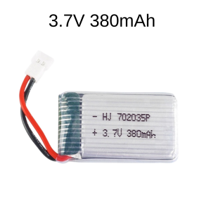 3.7V 380mAh Upgraded Battery For Hubsan X4 H107L H107SD H107HD H107D RC Quadcopter H107-A05C