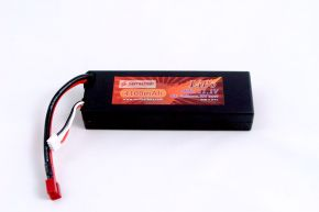 11.1V 4100mAh 40C hard case LIPO battery with T plug