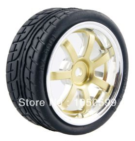 1:10 Road Rubber Tires 8003 - (4 pieces)