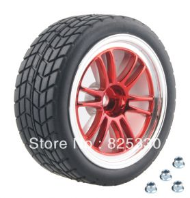 1:10 Road Rubber Tires 8005 - (4 pieces)