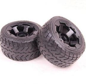 BAJA Rear Onroad wheels and Tyres 2PCS/PAIR - 85030