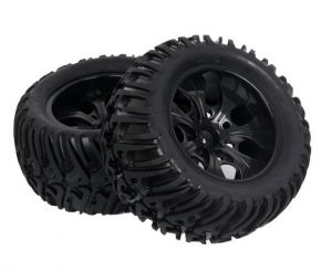 1/10 Wheels with Tires 125mm 2PCS
