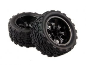 1/10 Wheels with Tires 115mm 2PCS