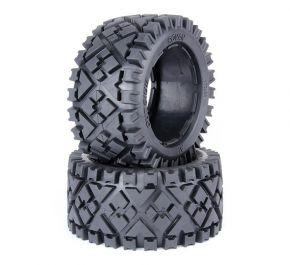 Baja 5B rear tyres fetal Skin without foam (2 pieces)