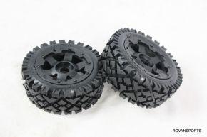 BAJA Front Full Terrain Tyre Set 2PCS/PAIR - 95119