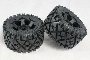 Rovan Baja 5B all terrain REAR tire assembly 2PCS/PAIR - 95120