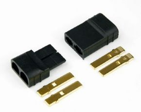 Traxxas Style Connector Male/Female Set 1 pair TRAXAS