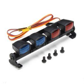 AUSTAR LED Aluminum Alloy Frame POLICE Lights For 1/10 1/8 RC Car