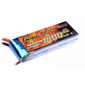 Gens ace 1800mAh 7.4V 25C 2S1P Lipo Battery Pack