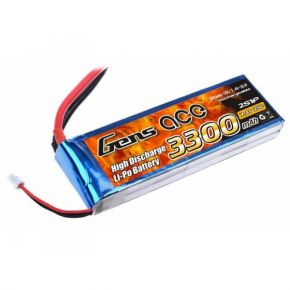 GENS ACE - 3300 mAh 2S 7.4V 25C Lipo Pack
