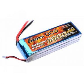 Gens ace 3800mAh 11.1V 25C 3S1P Lipo Battery Pack