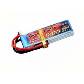 GENS ACE - 1200 mAh 3S 11.1V 40C Lipo Pack