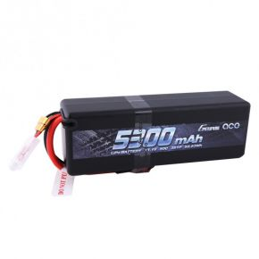 Gens ace 5300mAh 11.1V 50C 3S1P HardCase Lipo Battery with Deans Plug