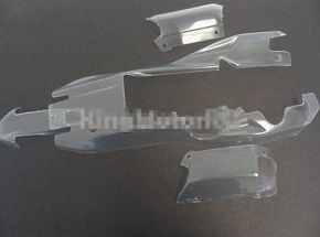 Baja 5b body cover clear color body shell for KM Rovan HPI