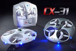 Cheerson CX - 31 Headless Mode 2.4G 4CH RC Quadcopter 3D Stunt 6 Axis Gyro Aircraft Mode 2 Ready to Run