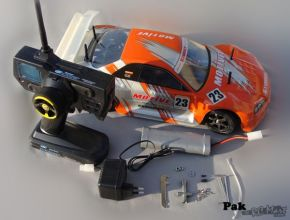 HL3851-1 1:10 Brushed Touring Car with NISSAN SKYLINE GTR bodyshell - Rally Car - Ready to Run