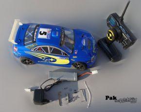 HL3851-1 1:10 Brushless Touring Car with  SUBARU IMPREZA bodyshell - Rally Car - Ready to Run