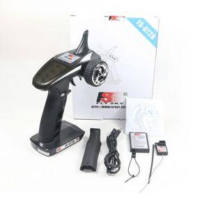 FS GT2B FlySky FS-GT2B 2.4G 3CH Radio System (For Car & Boat)