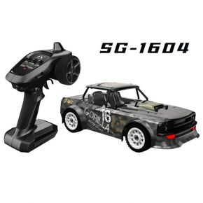 SG 1604 RTR 1/16 2.4G 4WD 30km/h RC Car LED Light Drift On-Road Proportional Control Vehicle Model