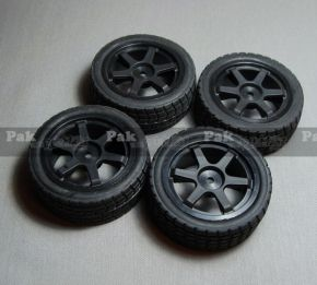 Tires with Rim for HL3851-1 Touring - Speed car