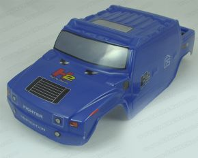 1/10 Scale Pre-Painted HUMMER H2 BLUE bodyshell