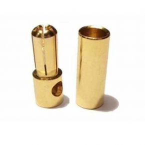 5.0MM Gold Plated Connector Male and Female