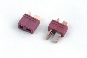 New product Dean Ultra T Plug Connector with Grip Male and Female Red Color
