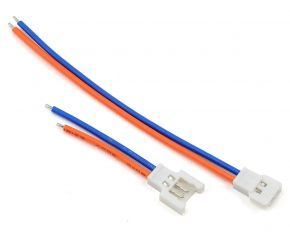 Losi min T connector with 24AWG Silicone wire 80mm Male and Female