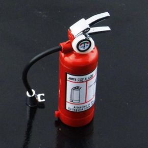 Scale Fire Extinguisher with Label