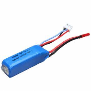WLtoys 7.4V 400mAh 20C 1/28 Lipo Battery RC Car Part K989-60