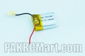 Quadcopter M9912 Spare Parts Battery 150mah