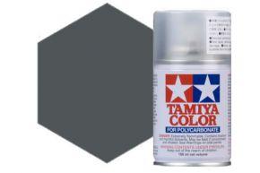 Tamiya PS-23 Gun Metallic Polycarbonate Spray Paint 100ml