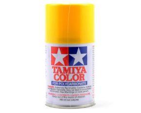 Tamiya PS-6 Yellow Polycarbonate Spray Paint 100ml