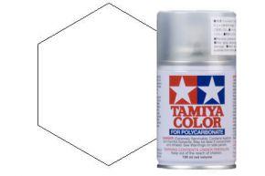 Tamiya PS-1 White Polycarbonate Spray Paint 100ml