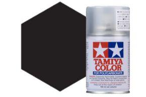 Tamiya PS5 Black Polycarbonate Spray Paint 100ml