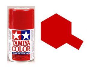 Tamiya PS15 Metallic Red Polycarbonate Spray Paint 100ml PS-15