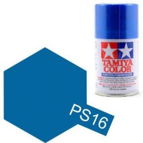 Tamiya PS16 Metallic Blue Polycarbonate Spray Paint 100ml PS-16