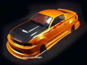 1:10 Mustang GT350 Golden PVC Material